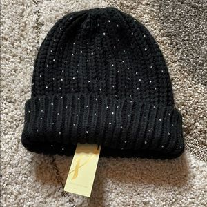 Collection 18 black sequin winter hat